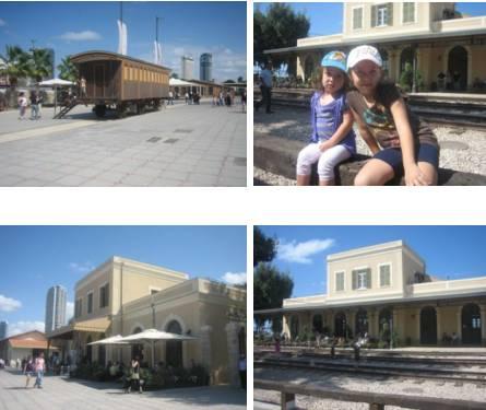 מתחם התחה בתל אביב-יפו טיולים קצרים לשישבת