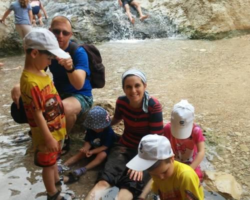 טיול בנחל בוקק - טיול בשבת עם הילדים