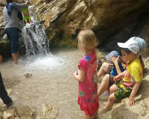 עין בוקק - טיול בשבת עם הילדים