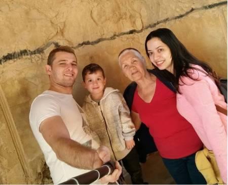 טיול עם המשפחה למצדה