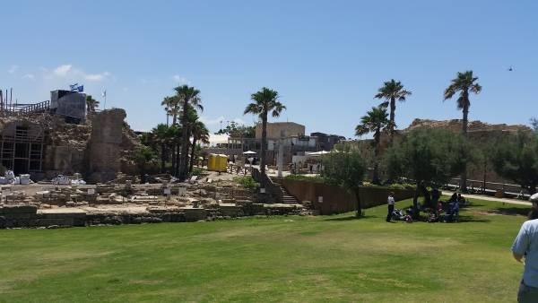 עתיקות קיסריה - טיול עם הילדים