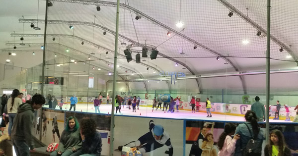 לה פארק - היכל הקרח - טיולים לשבת עם הילדים