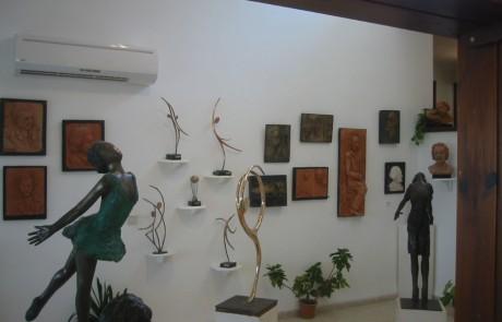 גן פסלים – גלריה אלכסנדר קירזנר